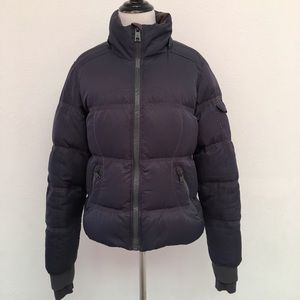 Lululemon Puffer Down Jacket Size 8 Dark Gray